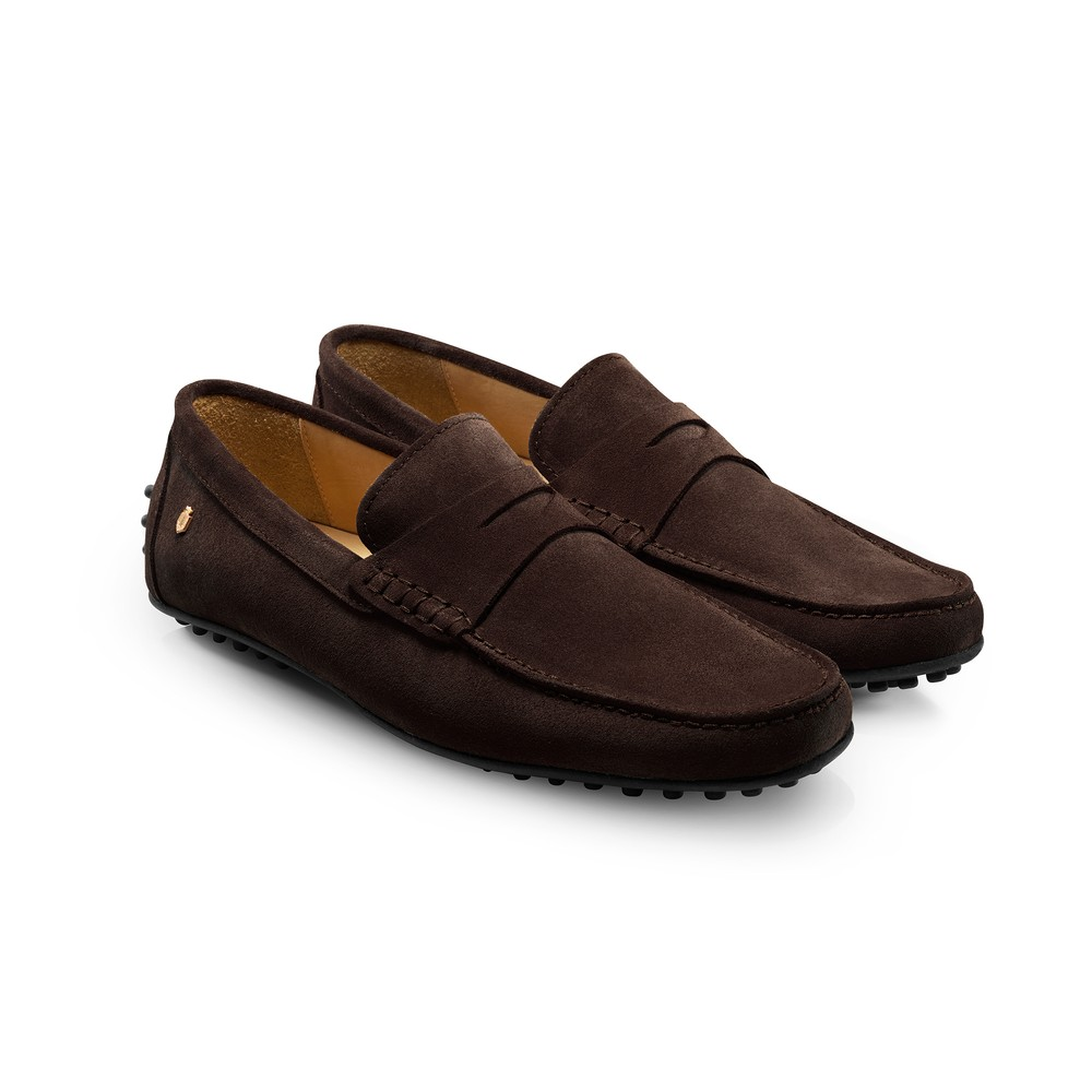 Fairfax & Favor Monte Carlo Driver Shoe - Chocolate