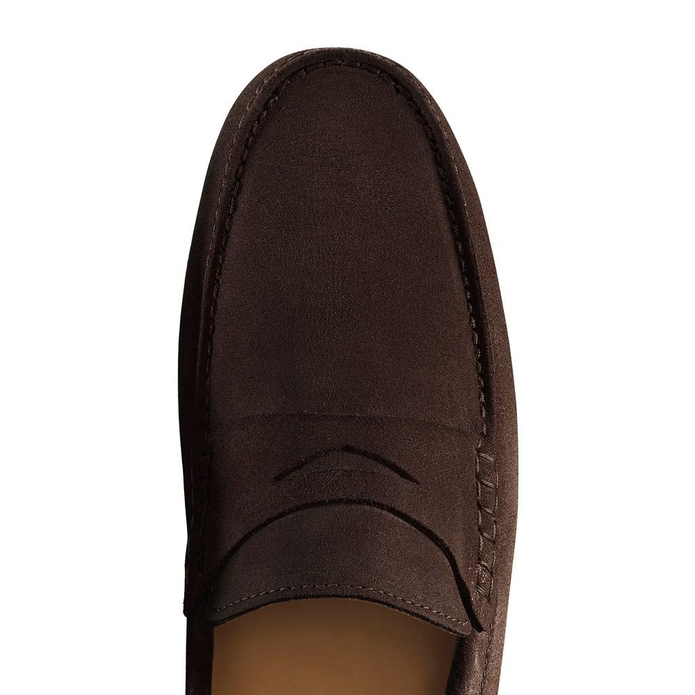 Fairfax & Favor Monte Carlo Driver Shoe - Chocolate Chocolate