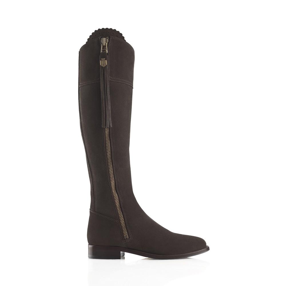 Fairfax & Favor Regina Boot - Chocolate Chocolate