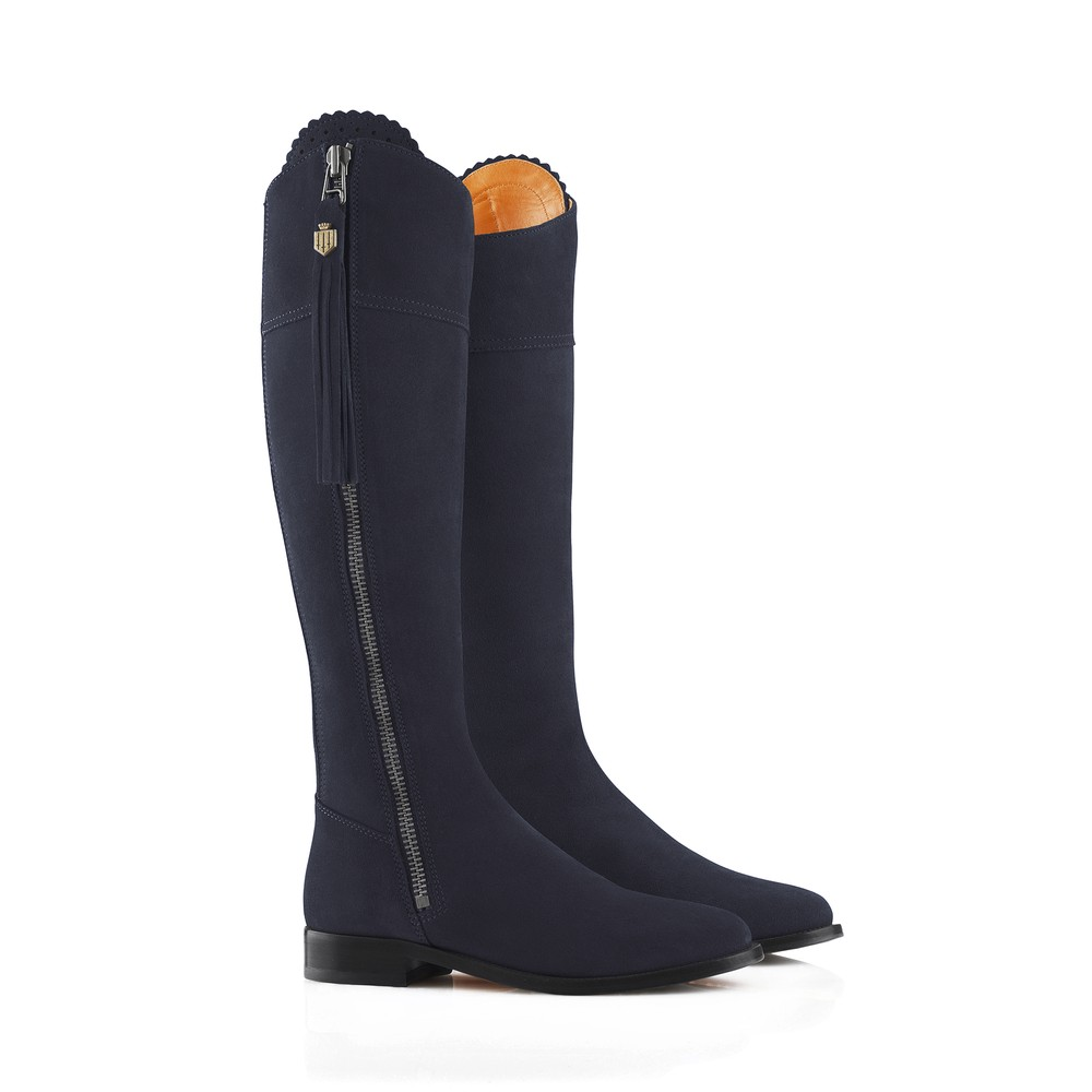 Fairfax & Favor Regina Boot - Navy