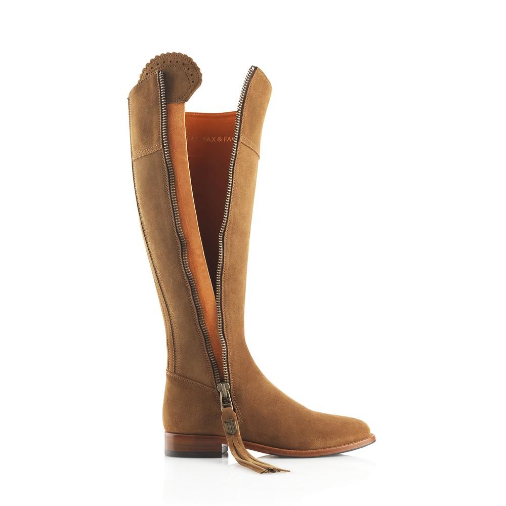 Fairfax & Favor Regina Boot - Tan Tan