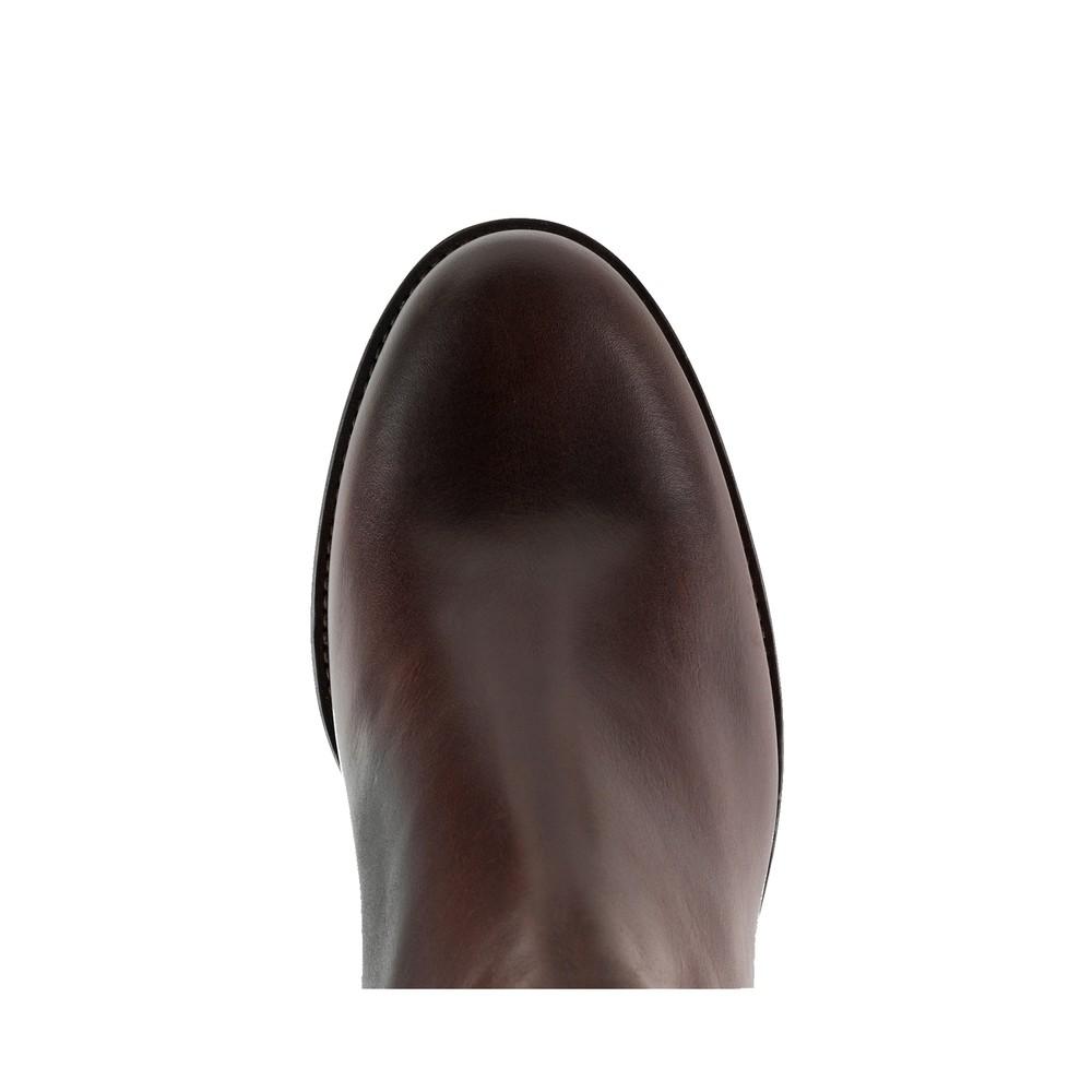 Fairfax & Favor Regina Leather Boot - Mahogany Mahogany