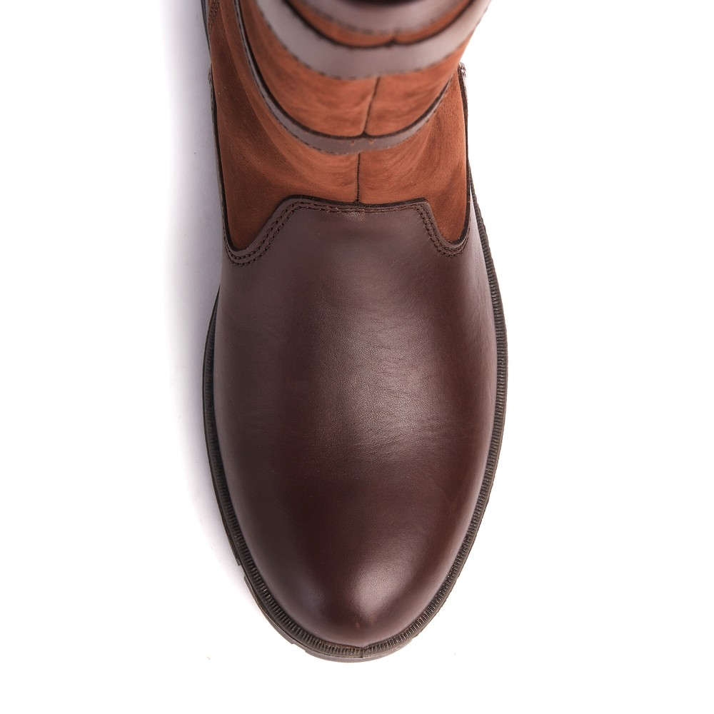 Dubarry Longford Knee-High Boot - Walnut Walnut