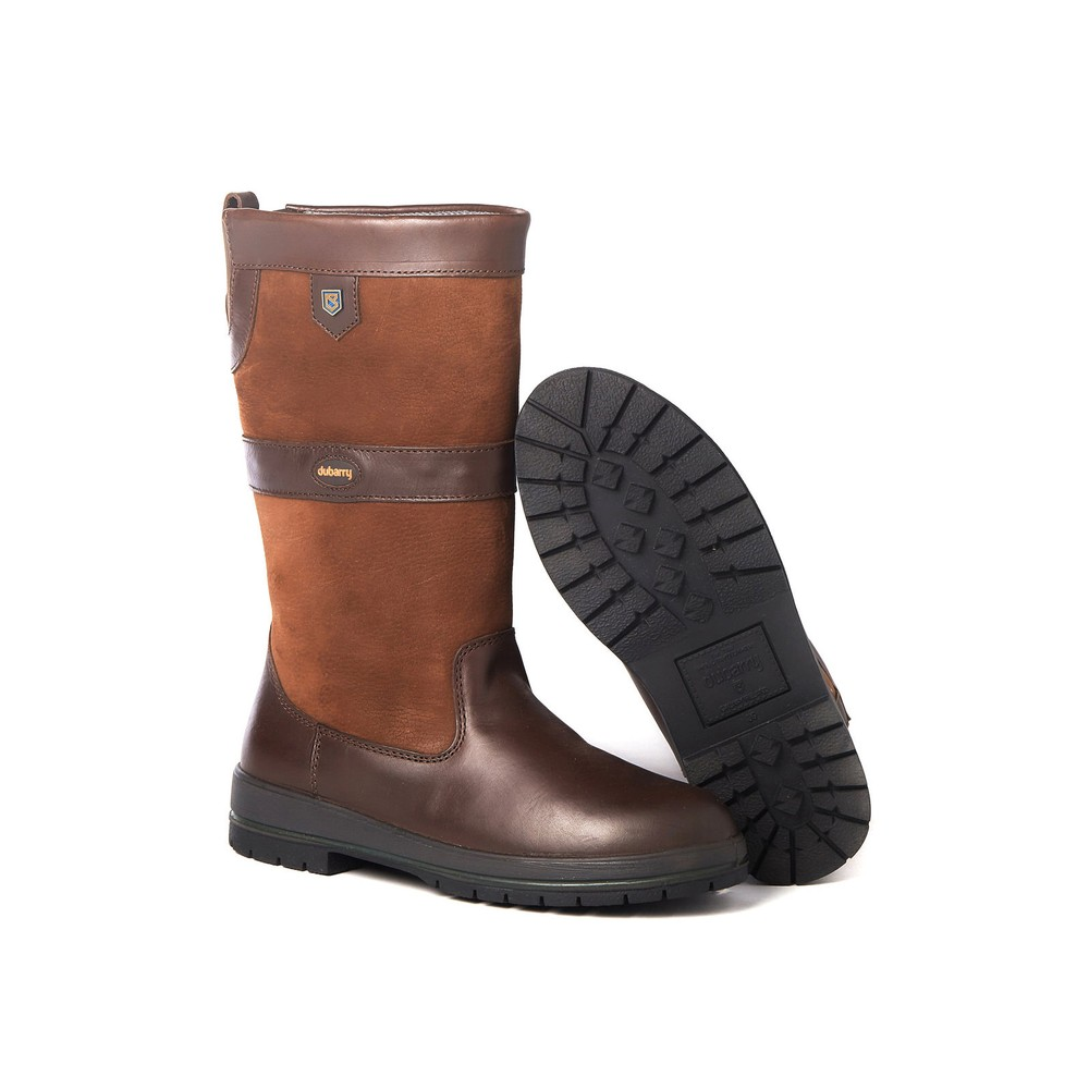Dubarry Kildare Leather Boot - Walnut Walnut