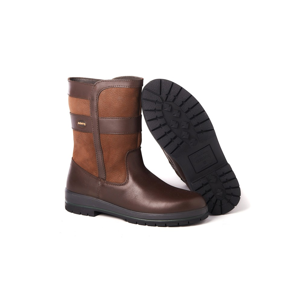 Dubarry Roscommon Leather Boot - Walnut Walnut