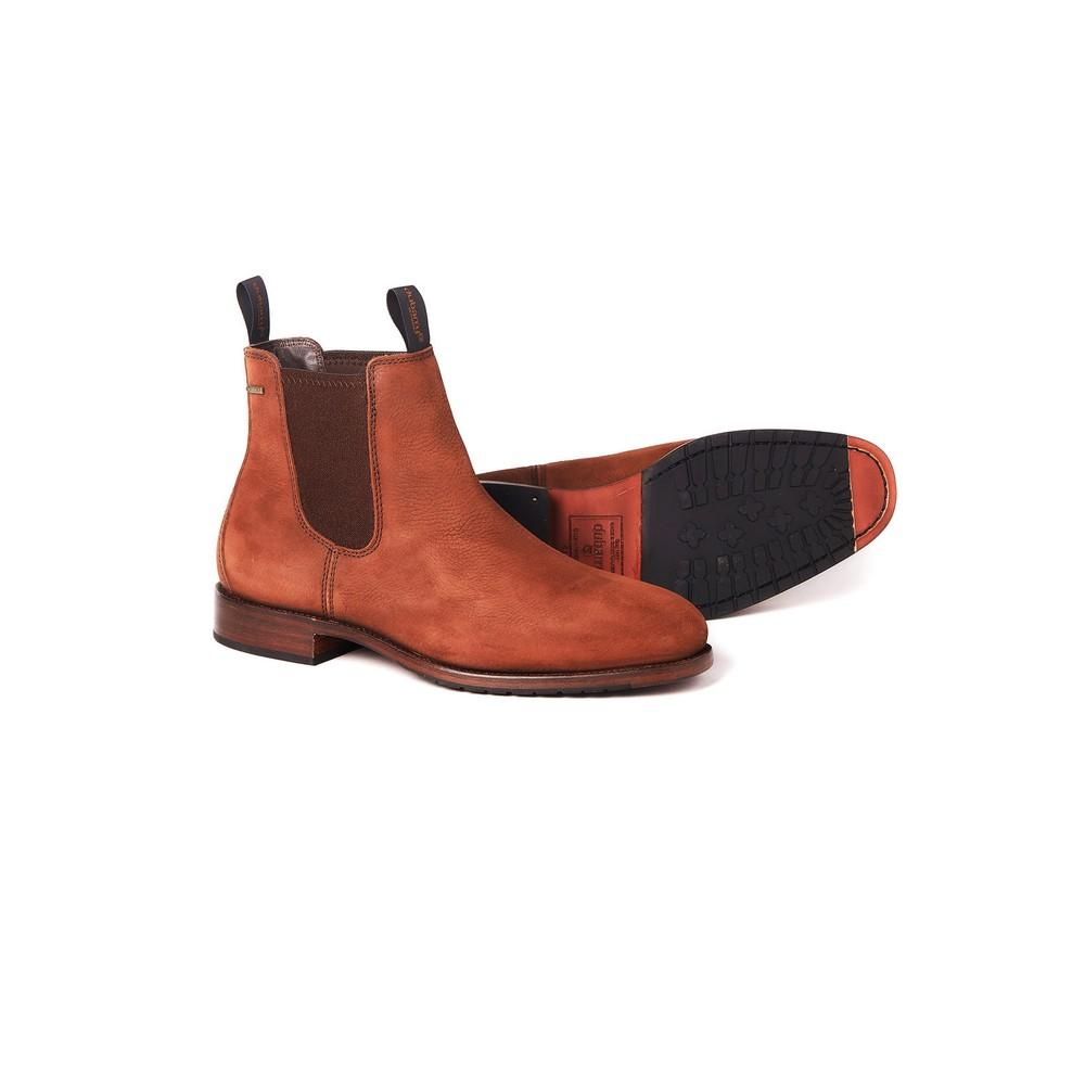 Dubarry Kerry Leather Ankle Boot  - Walnut Walnut