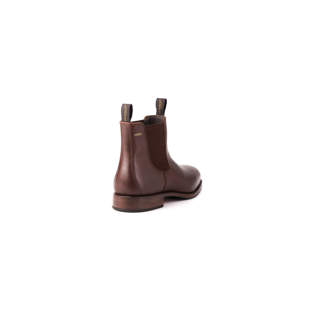 Dubarry Kerry Leather Ankle Boot - Mahogany Mahogany