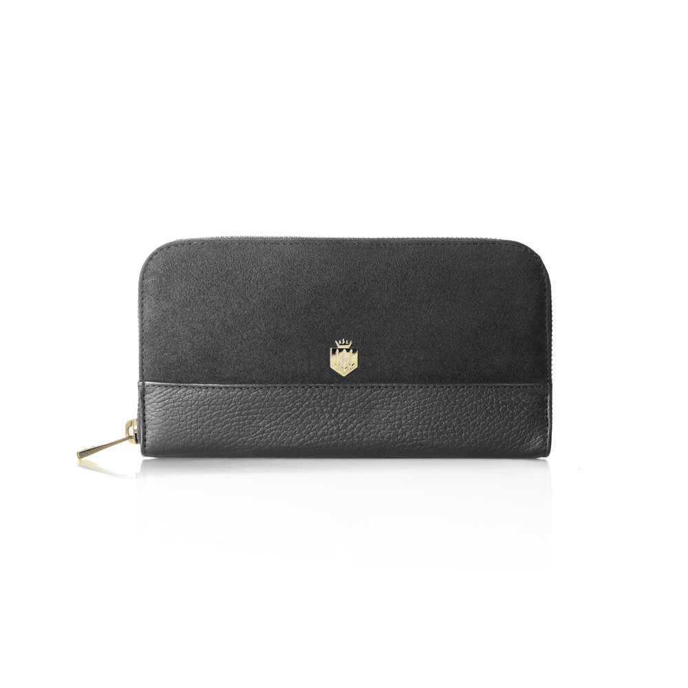 Fairfax & Favor Salisbury Purse - Grey Grey