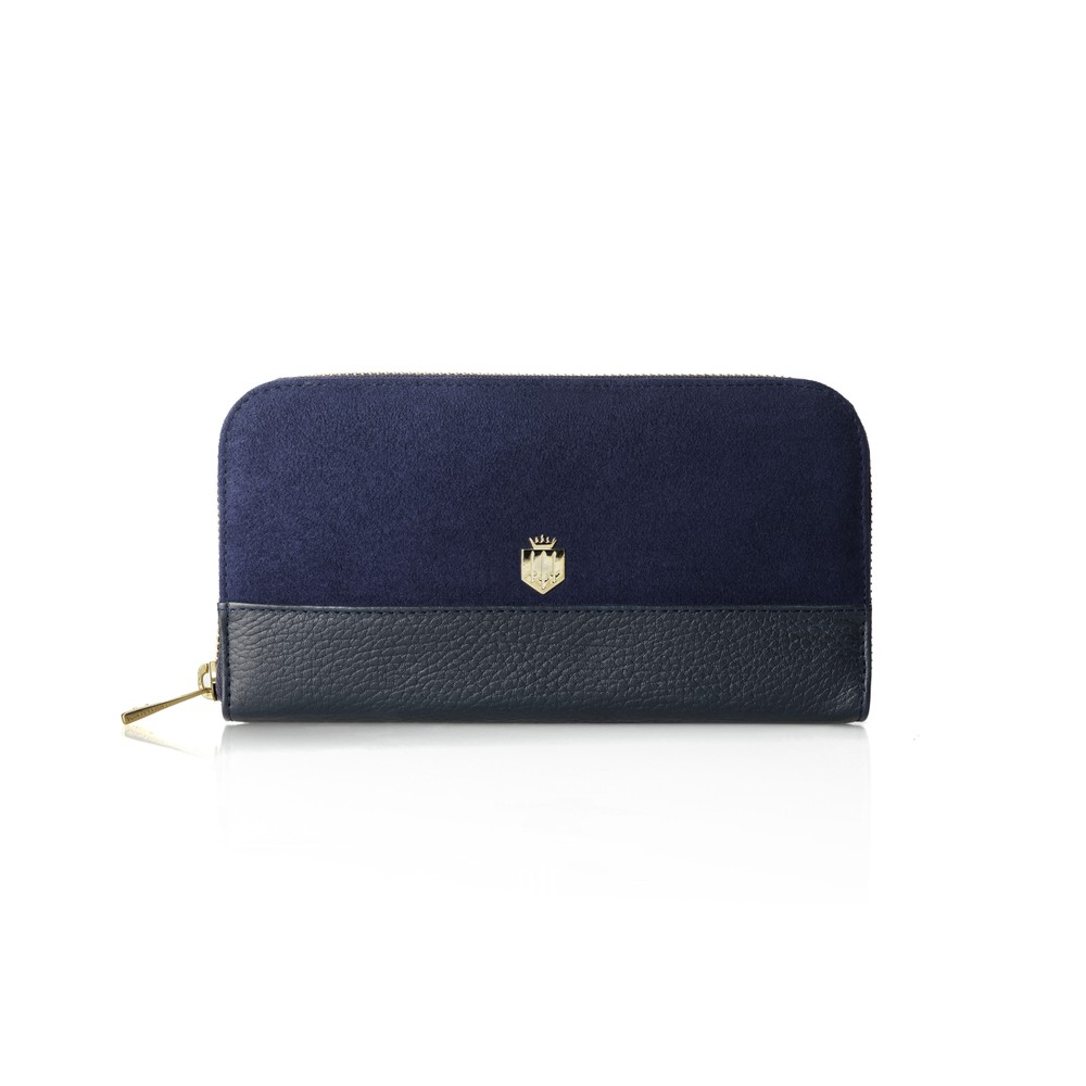 Fairfax & Favor Fairfax & Favor Salisbury Purse - Navy