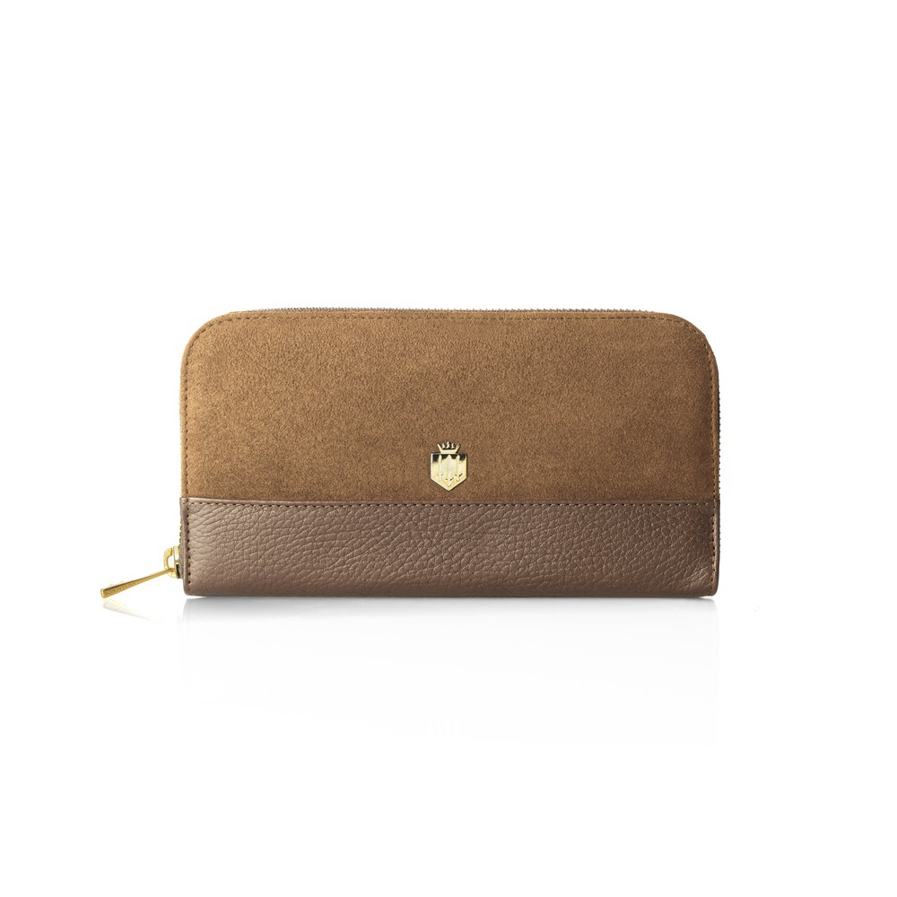 Fairfax & Favor Fairfax & Favor Salisbury Purse - Tan