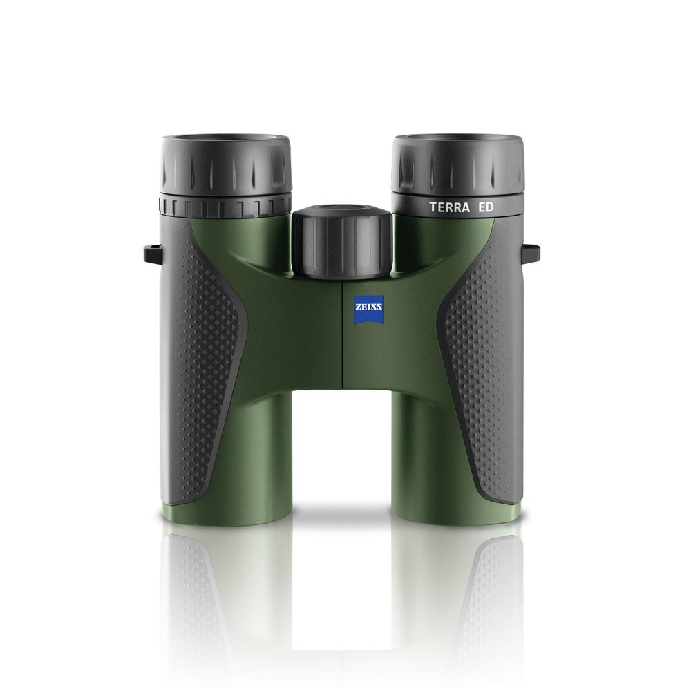 Zeiss Zeiss Terra ED Binoculars - Grey/Black in Black/Green