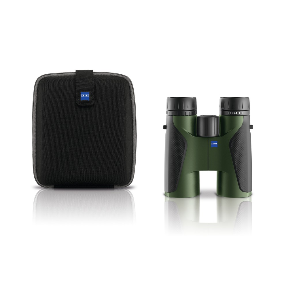 Zeiss Terra ED Binoculars - Black/Green Black/Green