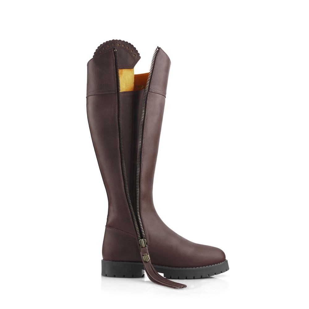 Fairfax & Favor Explorer Waterproof Boot - Mahogany Mahogany