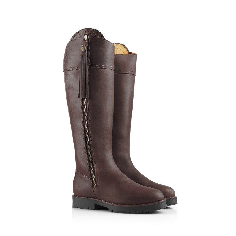 Fairfax & Favor Explorer Waterproof Boot - Sporting Fit - Mahogany