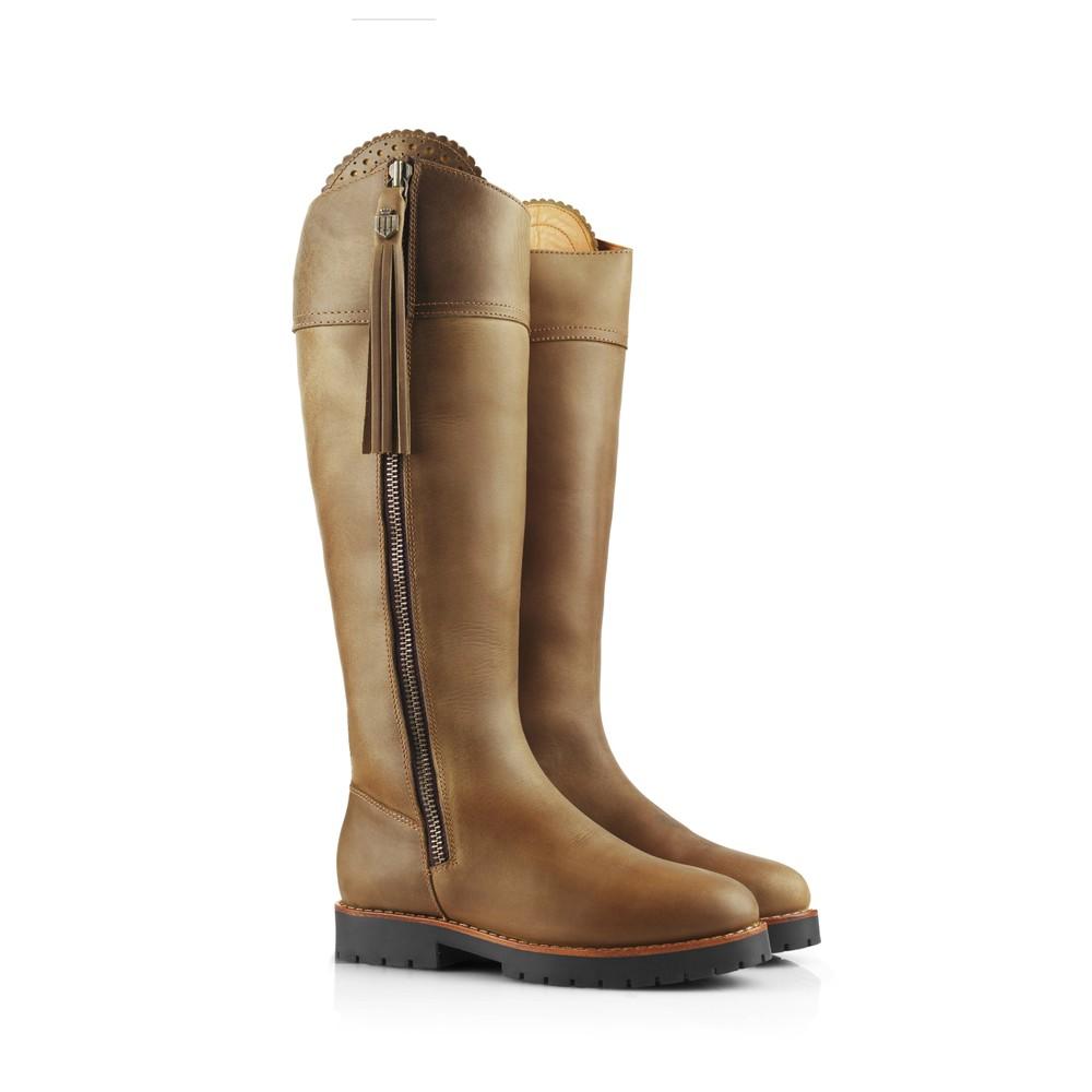 Fairfax & Favor Explorer Waterproof Boot - Sporting Fit - Oak