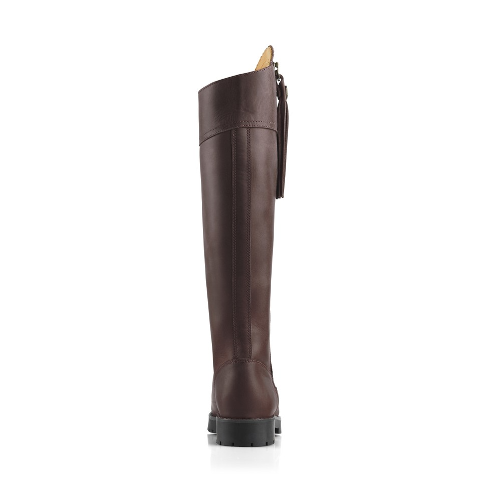 Fairfax & Favor Explorer Waterproof Boot - Narrow Fit - Mahogany Mahogany