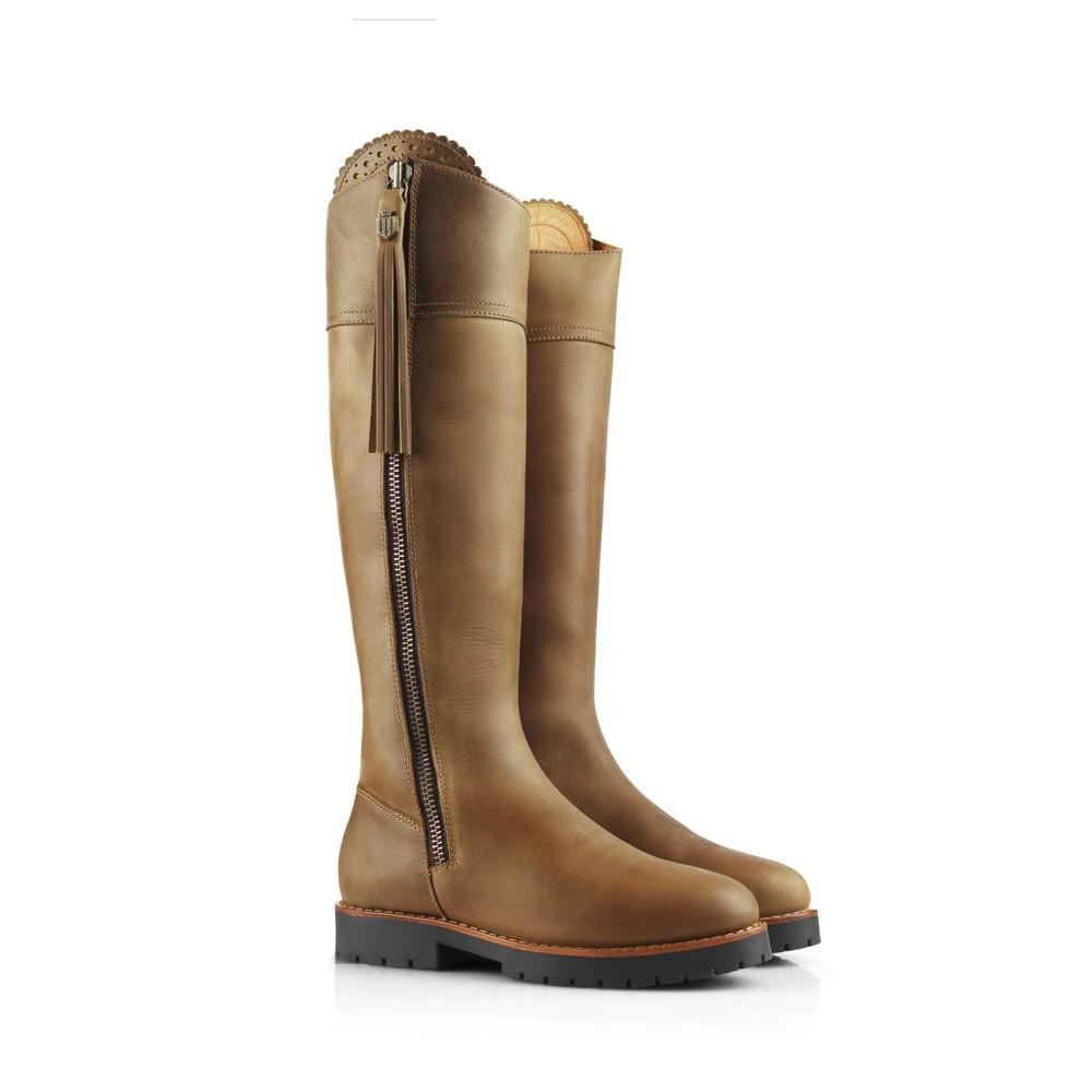 Fairfax & Favor Explorer Waterproof Boot - Narrow Fit - Oak Oak