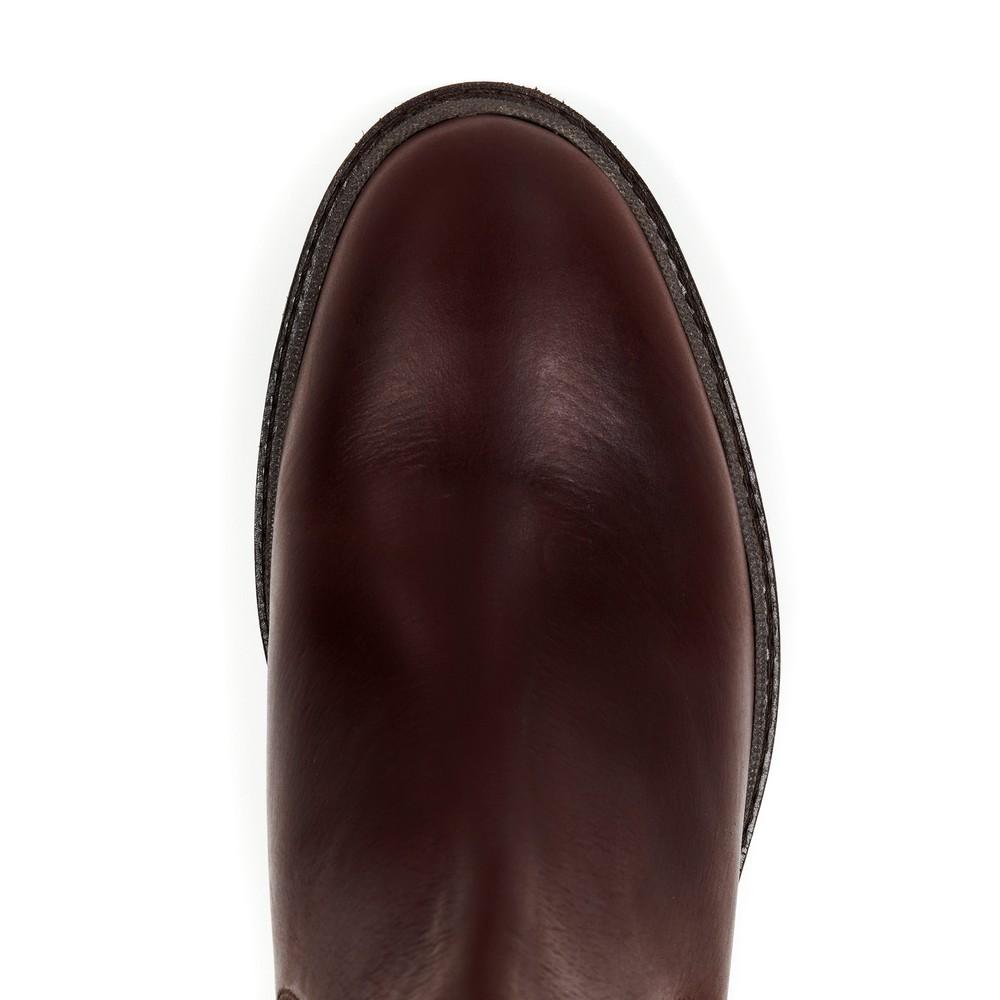 Fairfax & Favor Trafalgar Leather Boot - Mahogany Mahogany