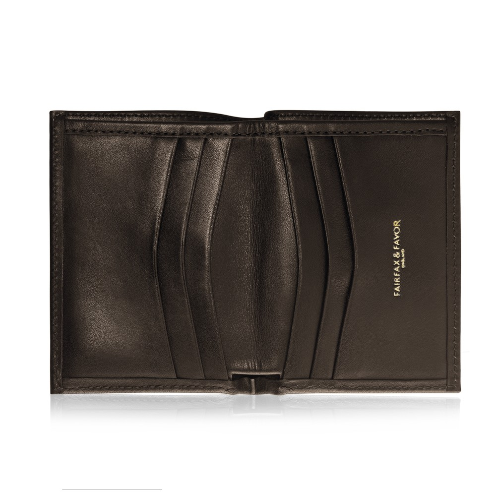 Fairfax & Favor Walpole Leather Wallet - Brown Brown
