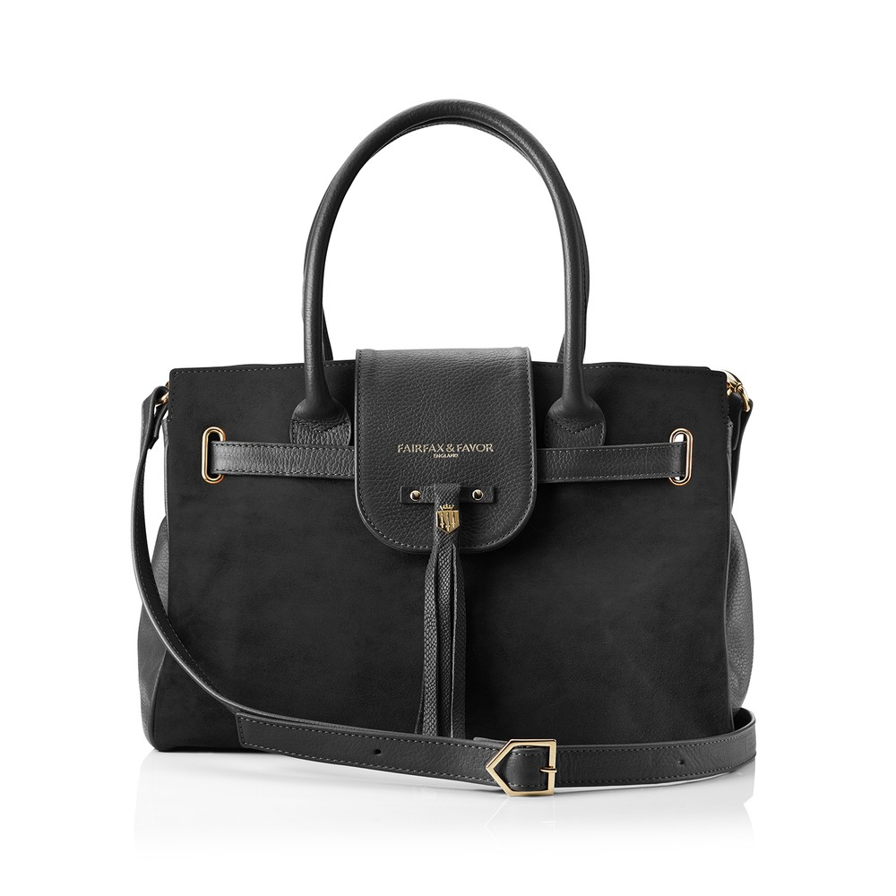 Fairfax & Favor Windsor Handbag Black