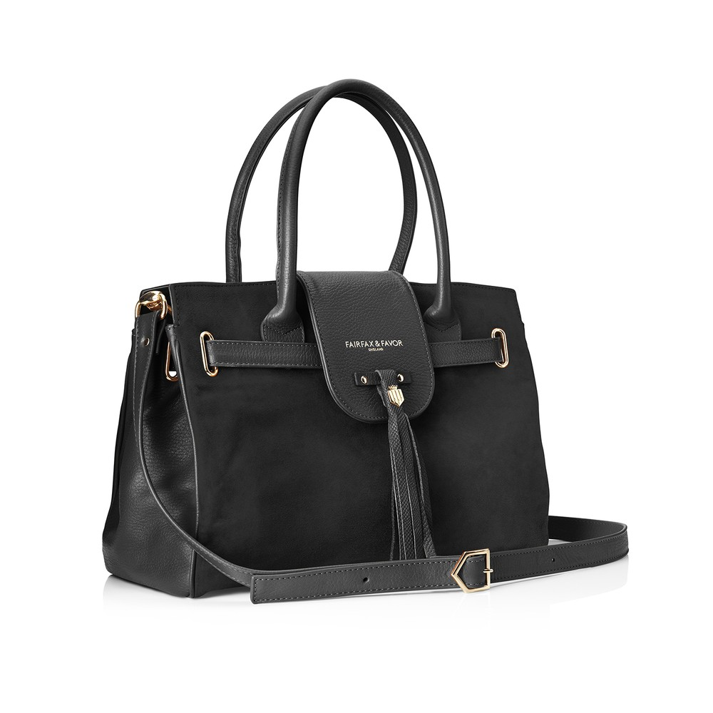 Fairfax & Favor Fairfax & Favor Windsor Handbag - Black