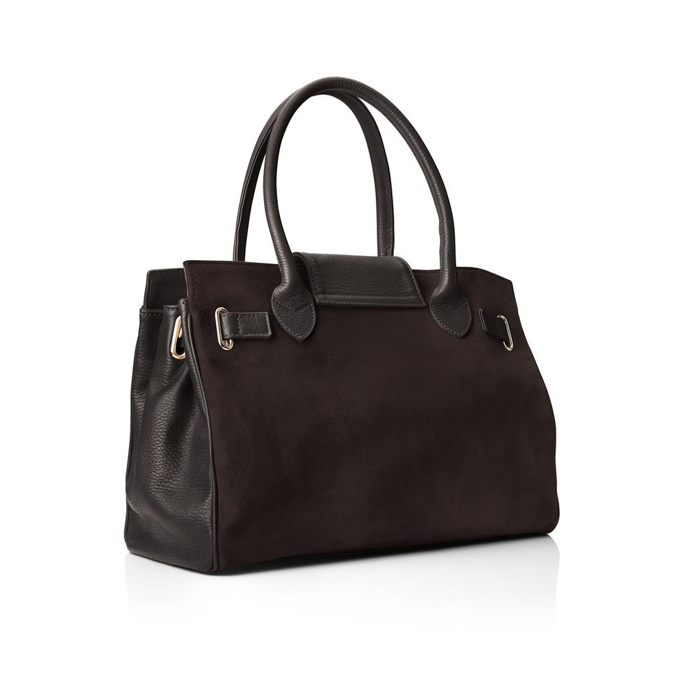Fairfax & Favor Windsor Handbag - Chocolate Chocolate