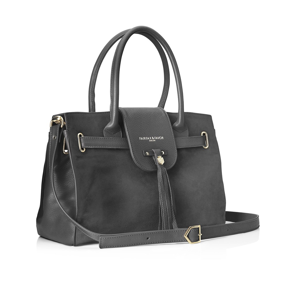 Fairfax & Favor Fairfax & Favor Windsor Handbag - Grey