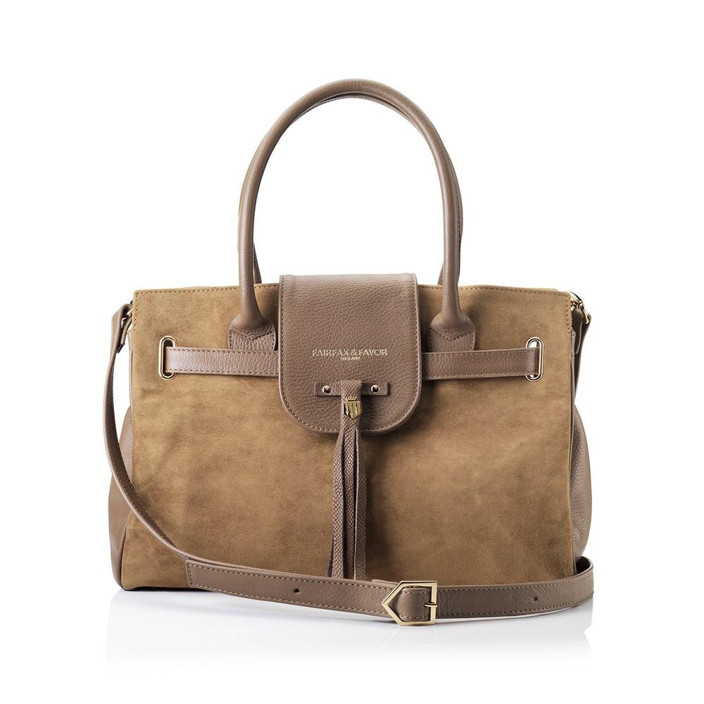 Fairfax & Favor Windsor Handbag - Tan Tan