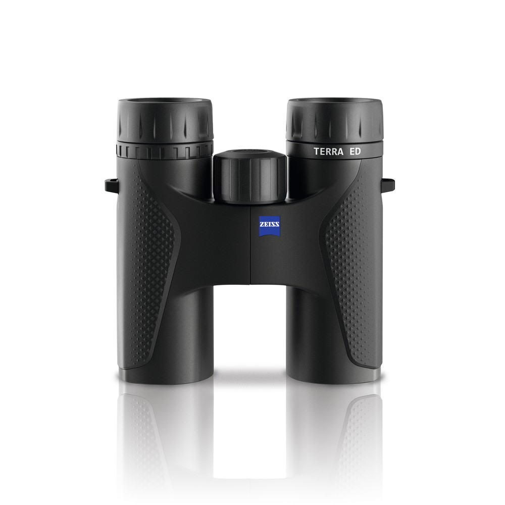 Zeiss Zeiss Terra ED Binoculars - Black/Green in Black