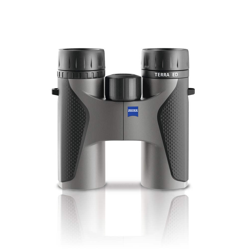Zeiss Zeiss Terra ED Binoculars - Black/Green in Black/Grey