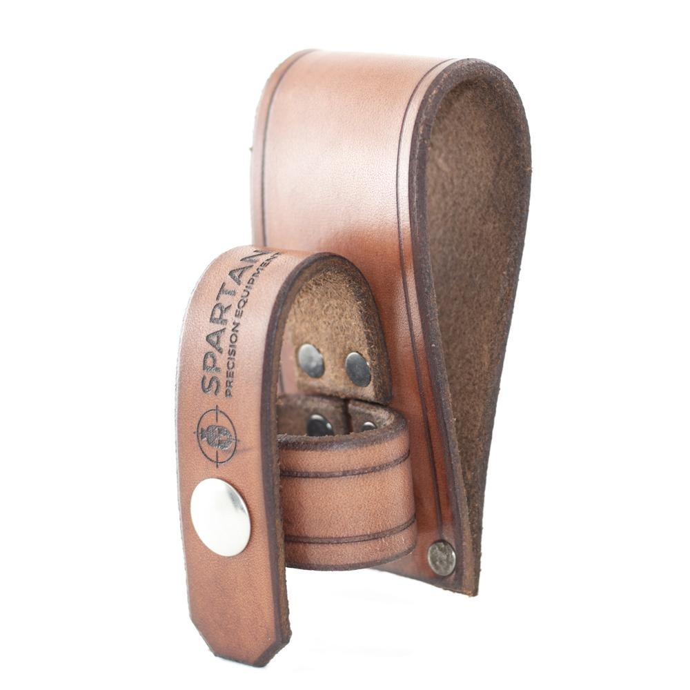Spartan Leather Bi-Pod Holster - Brown Brown