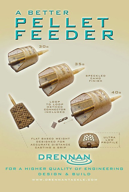 Drennan Pellet Feeder Brown