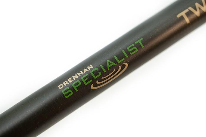 Drennan Specialist Twin Tip Duo Fishing Rod - 11/4lb - 11' Green