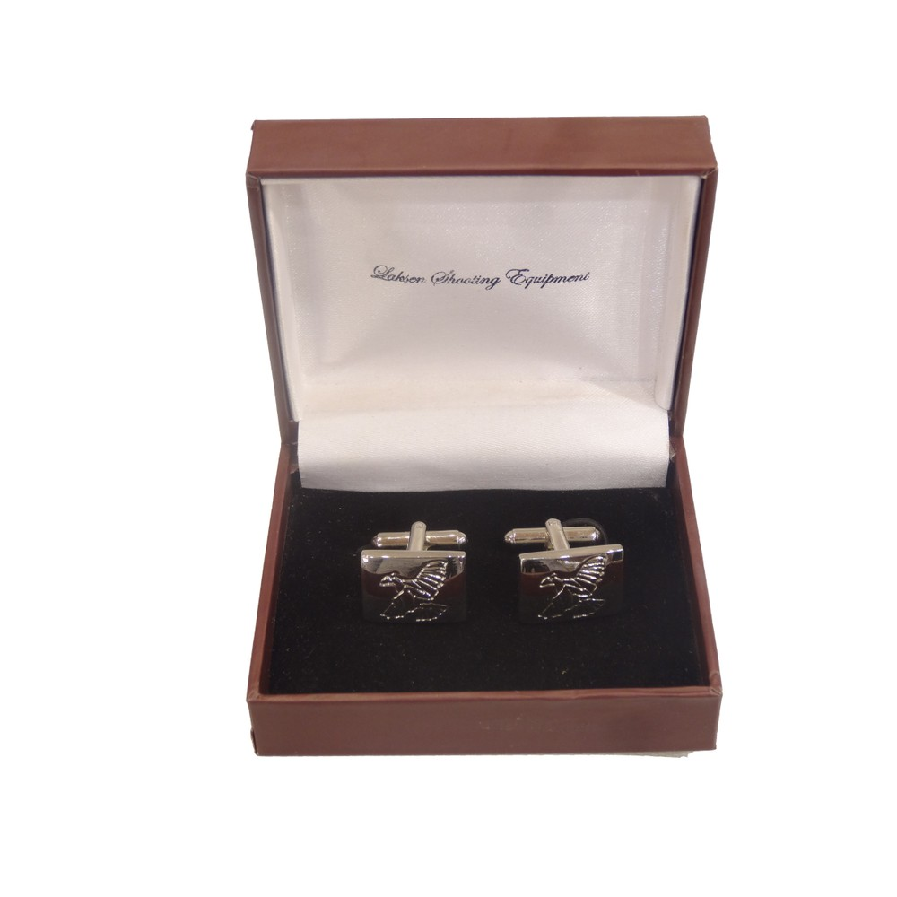 Laksen Laksen Cufflinks - Grouse - Chrome
