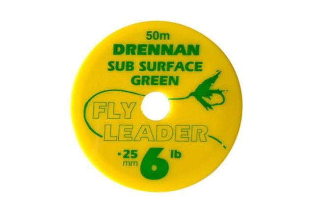 Drennan Sub Surface Green Fly Leader Green