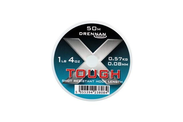 Drennan X-Tough Mono Line - 50m Transparent