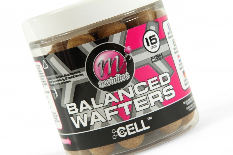 Mainline Baits Balanced Wafters - Cell Brown