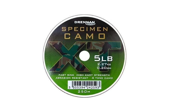 Drennan Specimen Camo XT Line - 250m - Camo