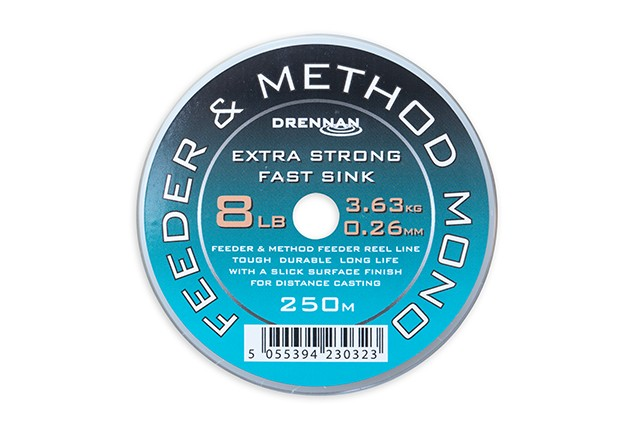 Drennan Feeder & Method Mono 250m