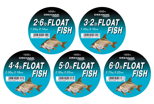 Drennan Float Fish Mono - 100m