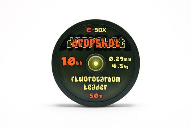 Drennan E-Sox Dropshot Fluorocarbon Leader Transparent