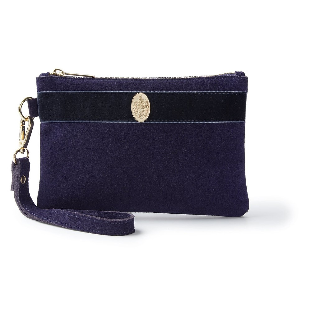 Hicks & Brown Hicks & Brown Chelsworth Clutch Bag - Navy