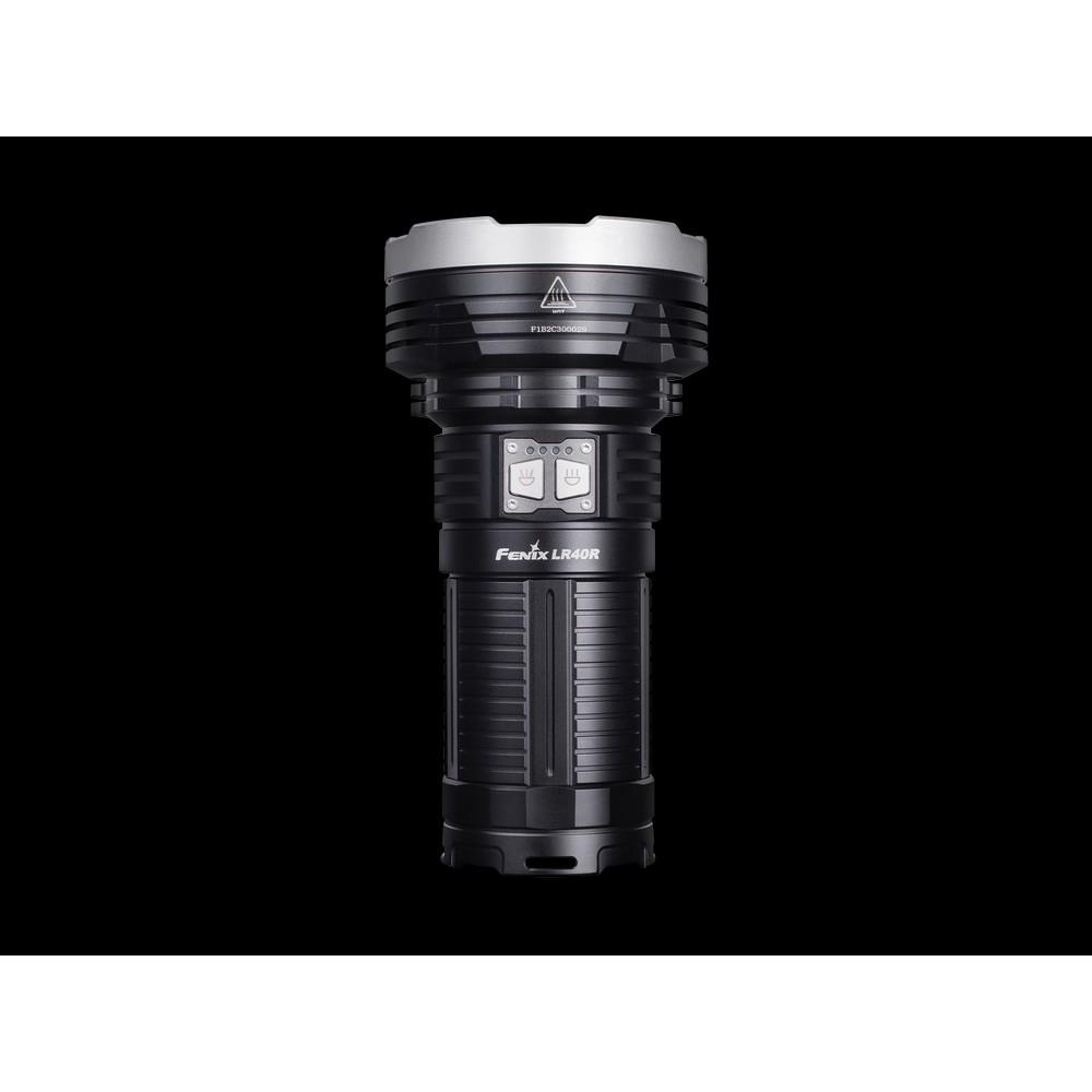 Fenix LR40R Rechargeable Searchlight Black