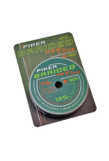 Drennan E-Sox Piker Braided Reel Line Olive