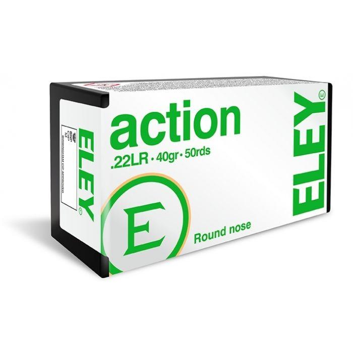 Eley .22LR Ammunition - Action - 40gr