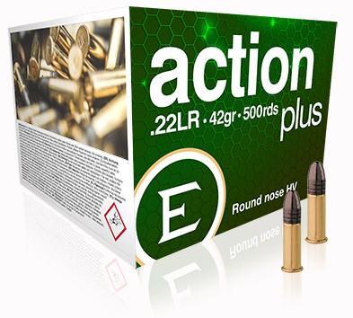 Eley .22 LR Ammunition - Action Plus - 42gr Bulk Pack x500