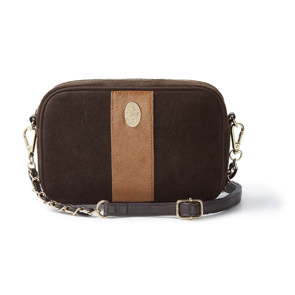 Hicks & Brown Hicks & Brown Melton Cross-Body Bag - Brown