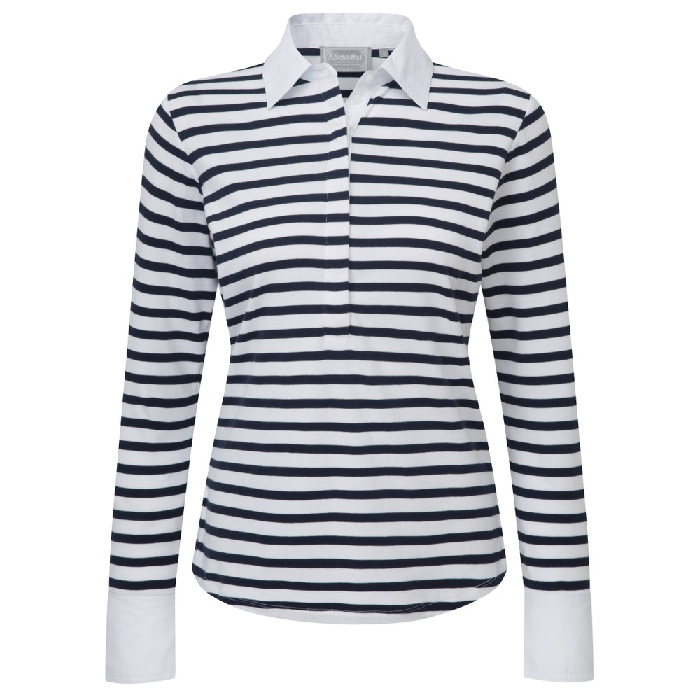 Schoffel Schoffel Salcombe Shirt - Harbour Stripe Navy