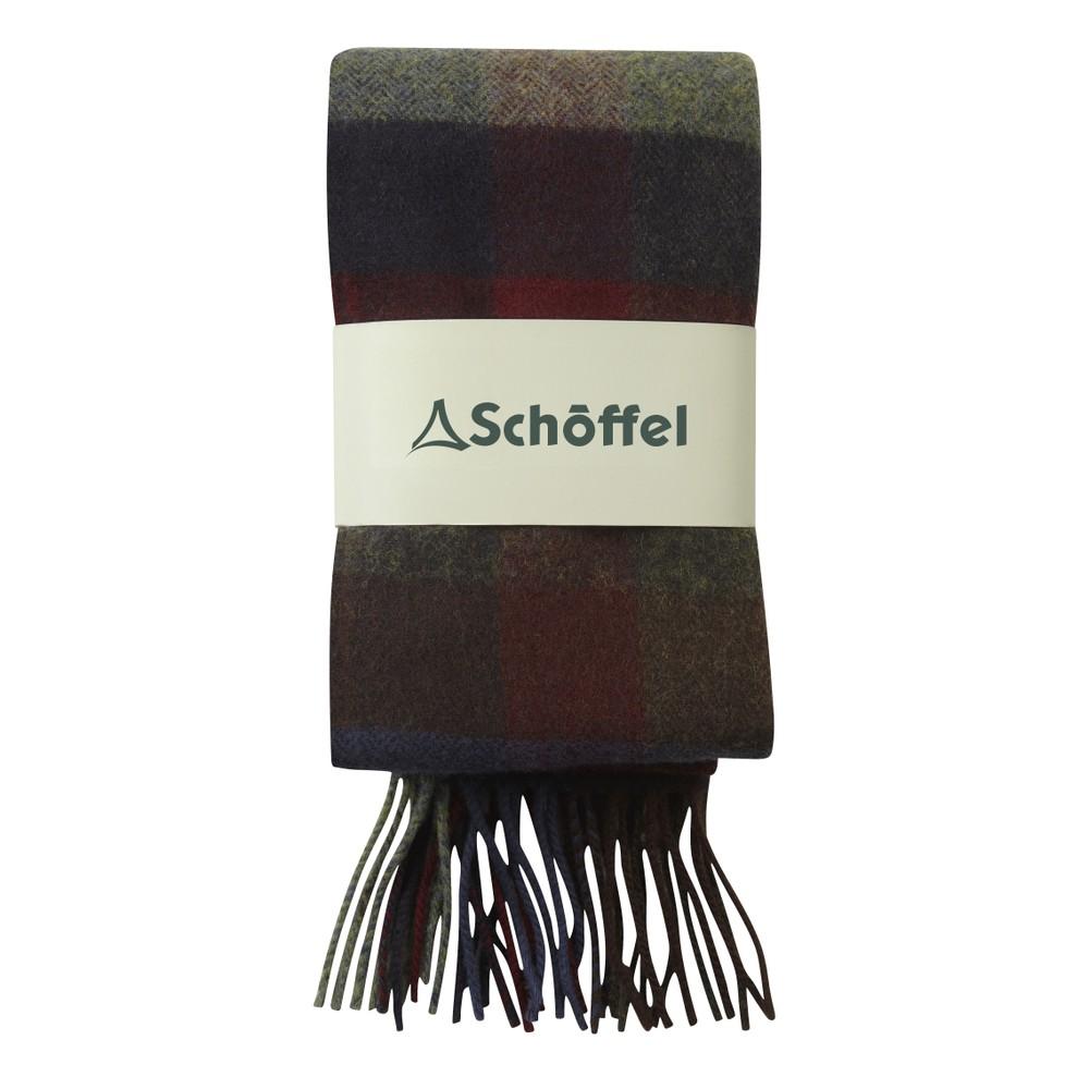 Schoffel Check Scarf - Multi Multi