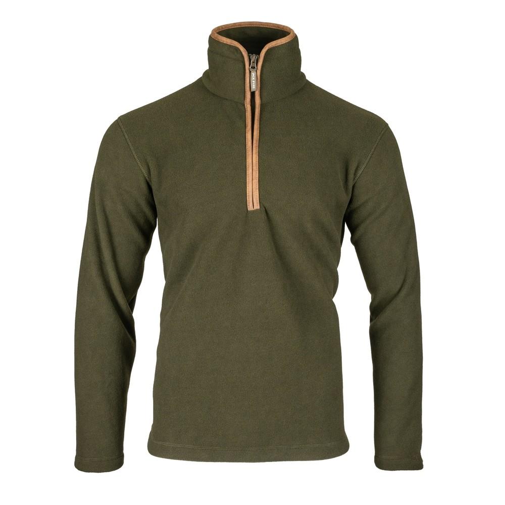 Jack Pyke Countryman Half Zip Pullover Fleece - Dark Olive